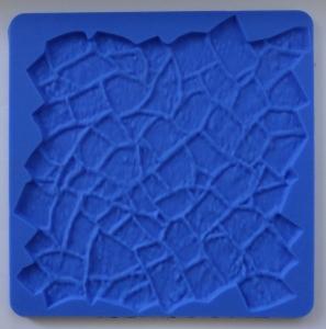 Mulaj din silicon, textura piatra