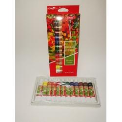 Set culori acrilice (12 ml/tub)