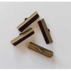 Capat panglica 25 mm (4 buc/set) bronz