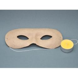 Masca venetiana din carton presat