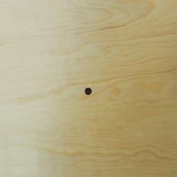 Cadran ceas din lemn patrat