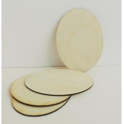 Placuta lemn oval 12x16 cm