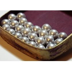 Perle 8 mm (30 buc/set) gri