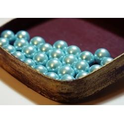 Perle 8 mm albastru deschis