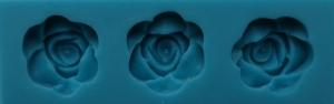 Mulaj din silicon - 3 trandafiri