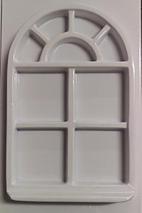 Forme pentru turnat ipsos rame mini geam