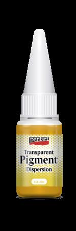 Pigment transparent galben