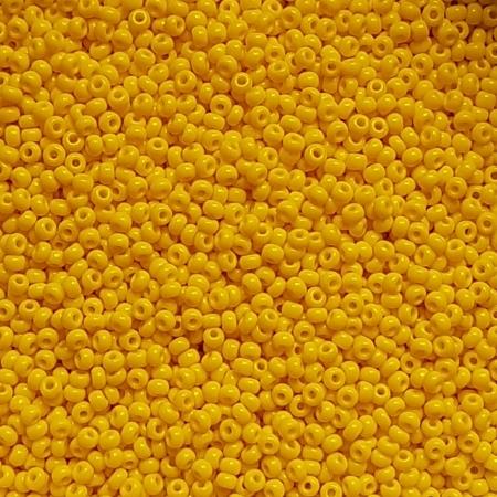 Margele nisip Preciosa Ornela 8/0 - 40 g - Galben opac 83130