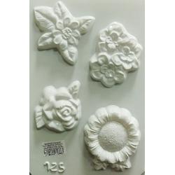 Matrita pentru turnat ipsos - Flori