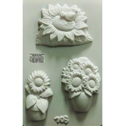 Matrita pentru turnat ipsos - Floarea soarelui