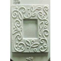 Matrita pentru turnat ipsos - Rama 7.5 x 5.5 cm