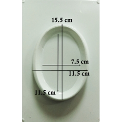 Oval mic 11 x 7.5 cm