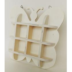 Suport in forma de fluture 20x20x3.5 cm
