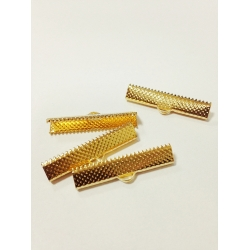 Capat panglica 30 mm auriu