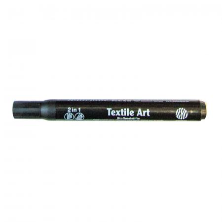 Marker pentru textile Nerchau - Negru
