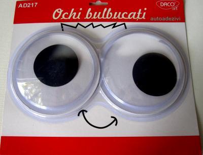 Set ochi mobili 15 cm diam./ buc.