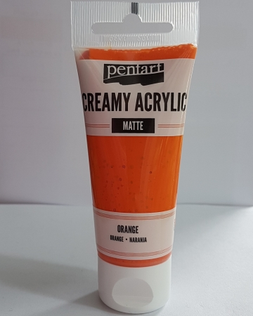 Vopsea acrilica mata - Portocaliu 60ml