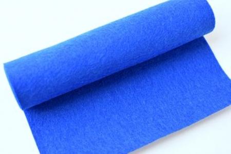 Rola fetru albastru 1 mm grosime