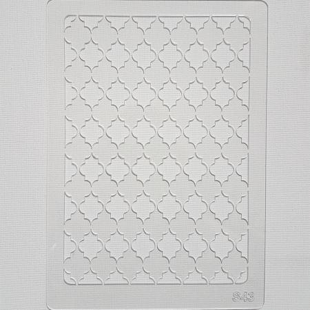 Sablon plastic - Decor 27