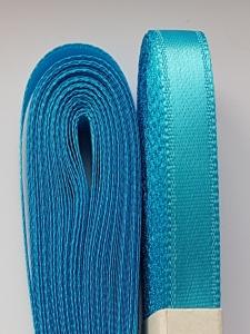 Saten albastru azuriu10 mm