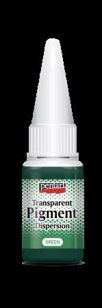 Pigment transparent verde
