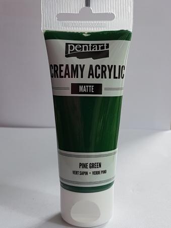 Vopsea acrilica mata - Verde brad 60ml