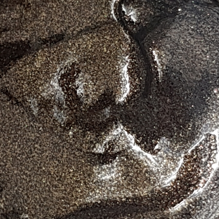 Vopsea acrilica auriu sclipici (50 ml)