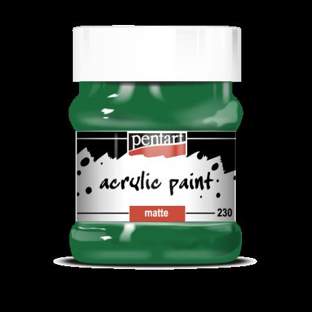 Vopsea Acrilica Mata verde (230 ml)