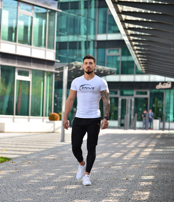 Genius Nutrition® White T-Shirt
