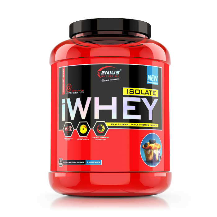 iWhey Isolate 2000g 0