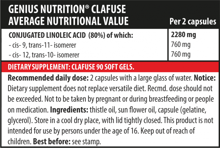 CLAFUSE 90softgels