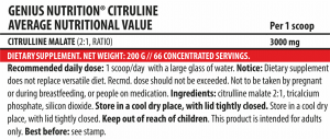 Citruline (66 servings/200g)