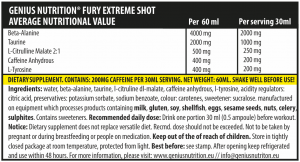 Fury Extreme Shot (2 servings/60ml)
