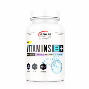 Vitamins B+ (60 Servings/60caps)