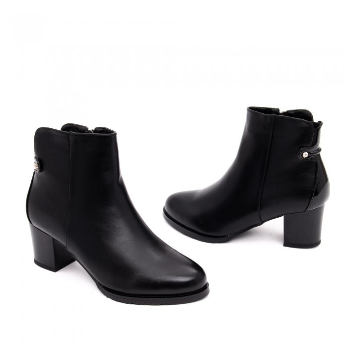 Botine elegante dama TN936 black 1