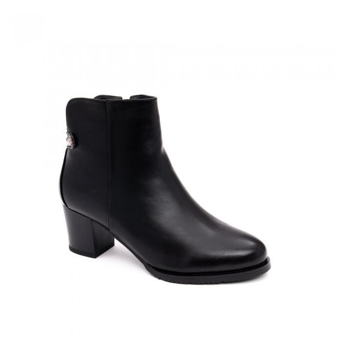 Botine elegante dama TN936 black 0