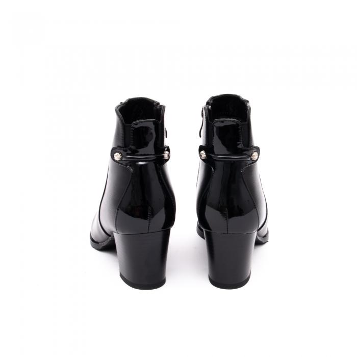 Botine elegante dama TN936 black 3