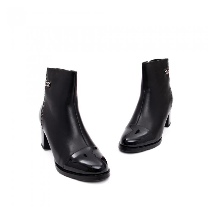 Botine elegante dama TN940 black 1