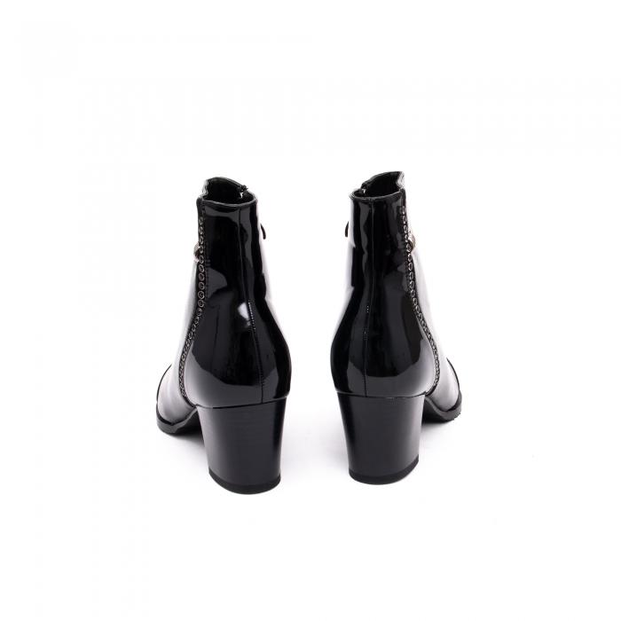 Botine elegante dama TN940 black 3