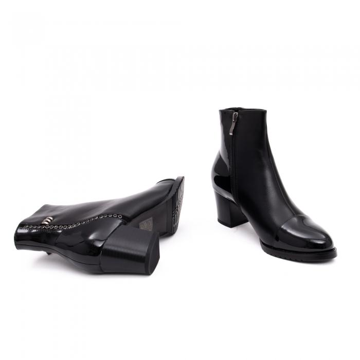 Botine elegante dama TN940 black 2