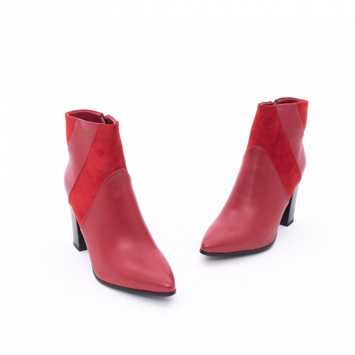 Botine elegante dama VN1734-2 red 1