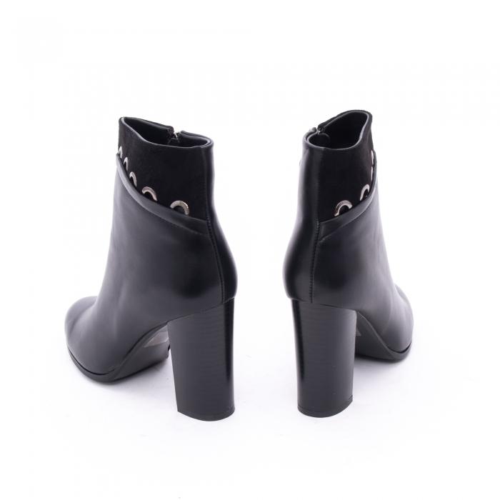 Botine elegante dama VN9327-1 Black 5
