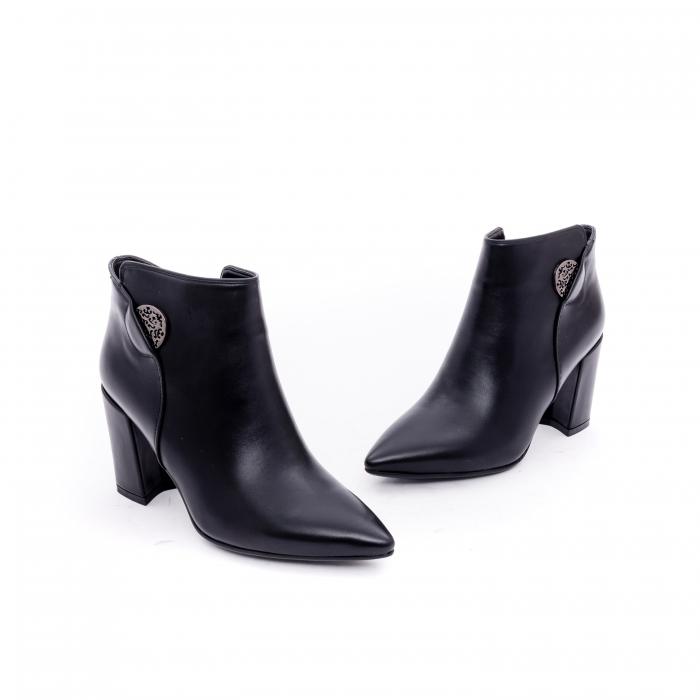 Botine elegante dama VN9357-4 black 1