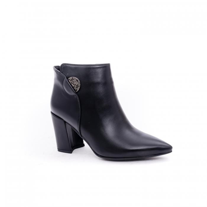 Botine elegante dama VN9357-4 black