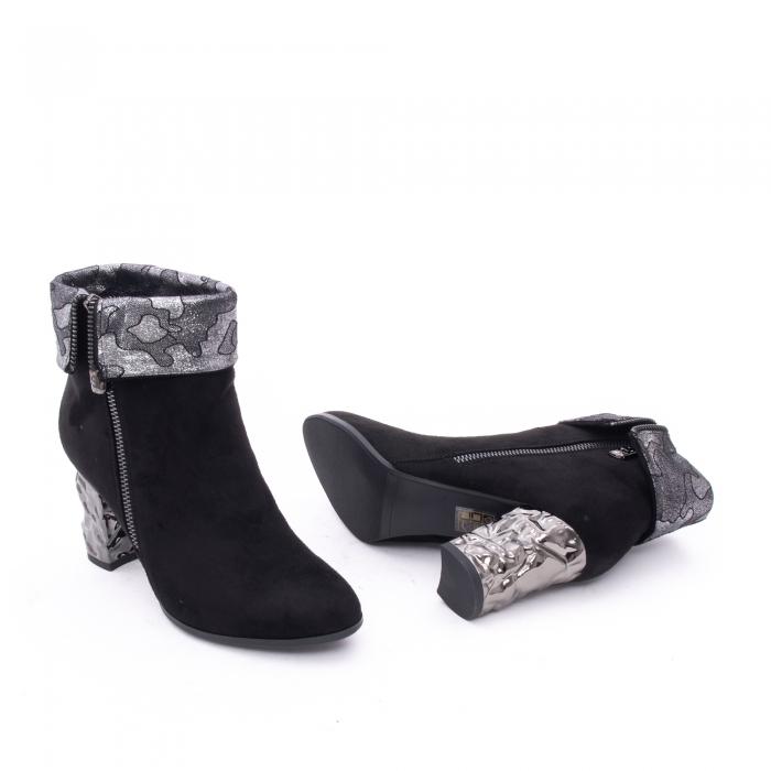 Botine elegante dama VN9375-1 black 2
