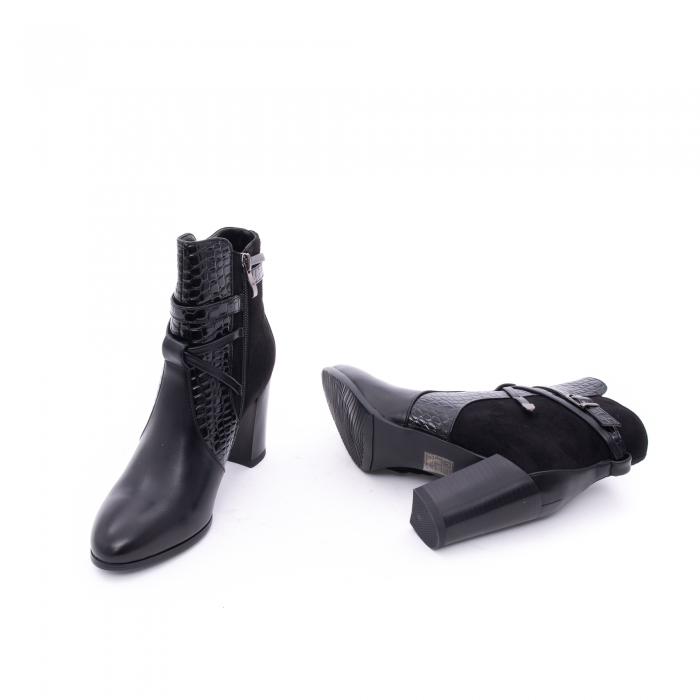 Botine elegante dama  VN9379-3 black 2