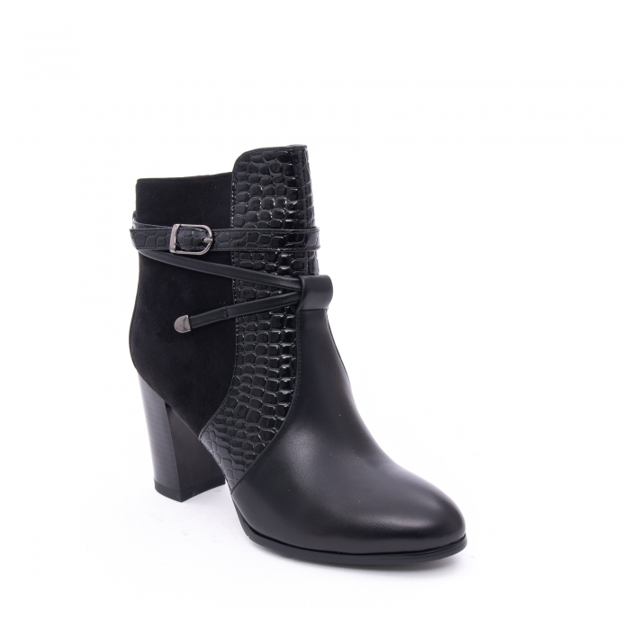 Botine elegante dama  VN9379-3 black 0