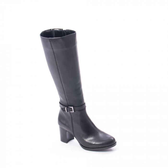 Cizme dama elegante piele naturala Catali 182880, negru 0