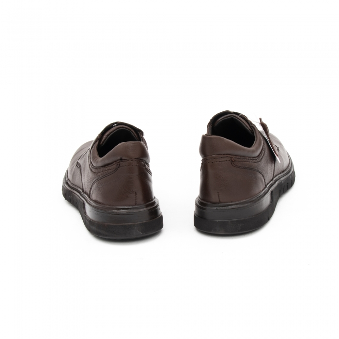 Pantofi barbati casual piele naturala Otter 2804, maro 6