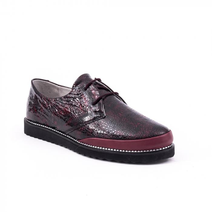 Pantof casual 191641 bordo 0